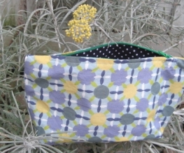 Funky zipper bag