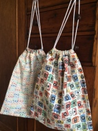 Drawstring bags - perfect for shoes!