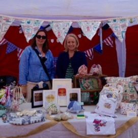 Claire & Fiona at Abbeville Fete
