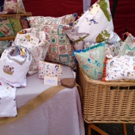 A selection of our cushions
