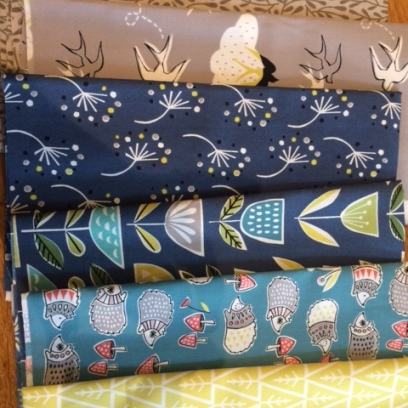 Organic fabrics from Elephant in my Handbag