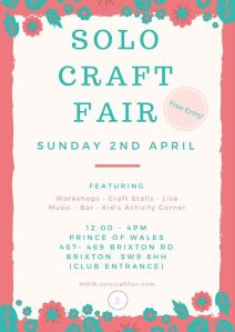 solo-craft-fair-april-2017