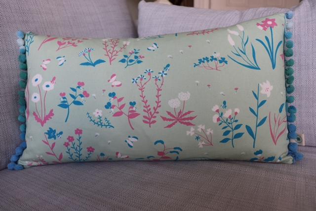 Floral cushion £16