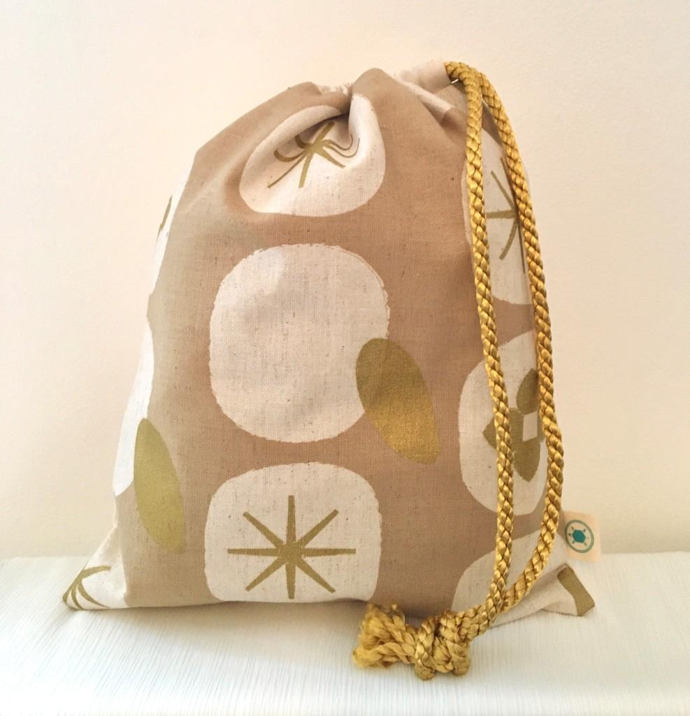 Gold wash bag £12