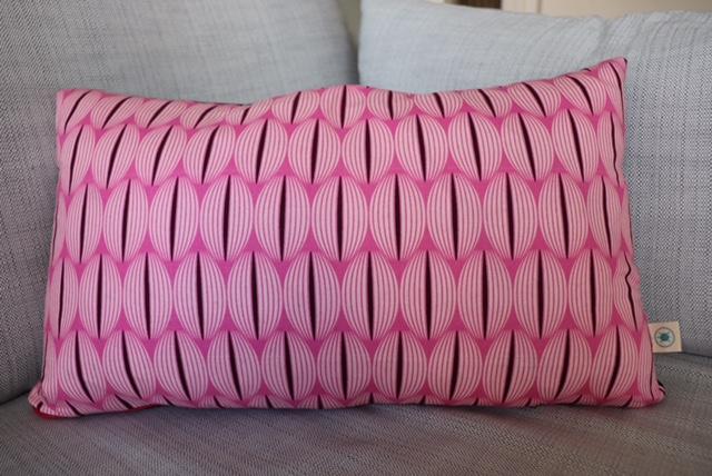 Pink cushion £16